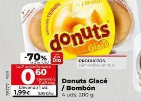 Oferta de Donuts glace/Bombón  por 1,99€