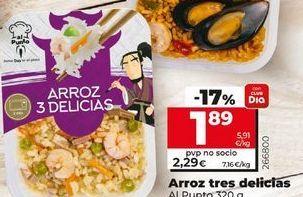 Oferta de Arroz tres delicias Al Punto por 1,89€