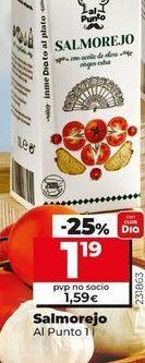 Oferta de Salmorejo Al Punto  por 1,19€