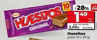 Oferta de Chocolate Huesitos por 1,49€
