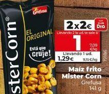 Oferta de Maíz frito MisterCorn por 2€