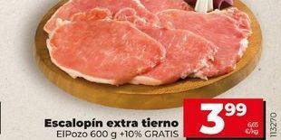 Oferta de Escalopines de pollo por 3,99€