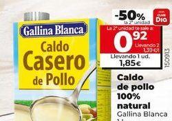 Oferta de Caldo casero Gallina Blanca por 1,85€