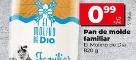 Oferta de Pan de molde El Molino  por 0,99€