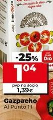Oferta de Gazpacho Al Punto por 1,04€