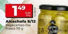 Oferta de Alcachofas 8/12 por 1,49€