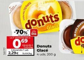 Oferta de Donuts glace/Bombón  por 2,29€