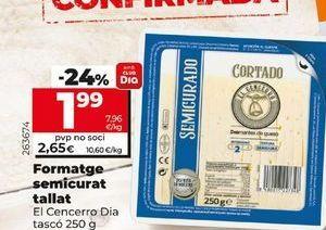 Oferta de Queso semicurado El Cencerro  por 1,99€