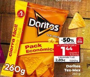 Oferta de Doritos por 2,89€