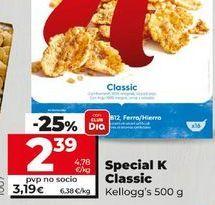 Oferta de Cereales Special K Kellogg's por 2,39€