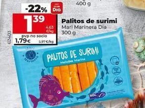 Oferta de Palitos de surimi por 1,39€