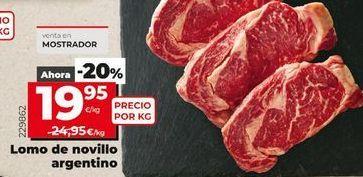 Oferta de Lomo de novillo por 19,95€