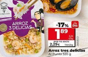 Oferta de Arroz tres delicias por 1,89€
