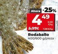 Oferta de Rodaballo por 4,49€