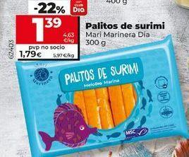 Oferta de Palitos de surimi Dia por 1,39€