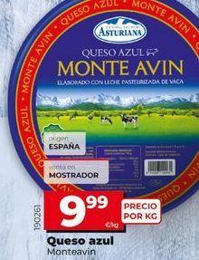 Oferta de Queso azul Monteavin por 9,99€