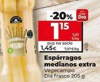 Oferta de Espárragos medianos extra Dia  por 1,15€