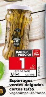 Oferta de Espárragos verdes delgados por 1€