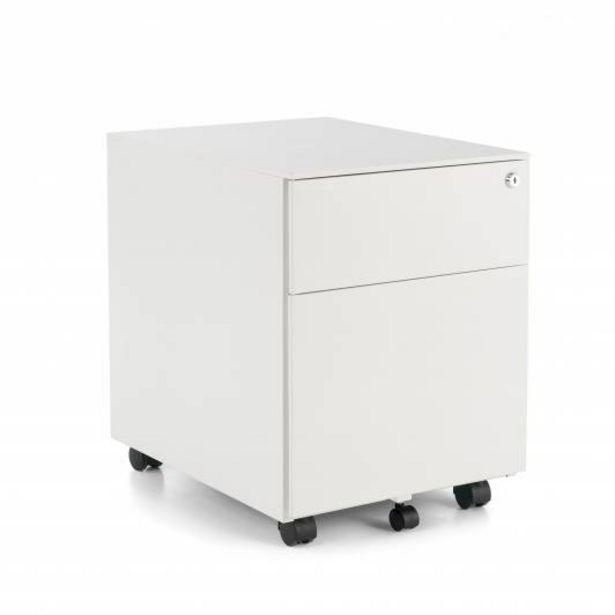 Oferta de Steelbox Buc cajonera cajón/archivo blanco por 155€