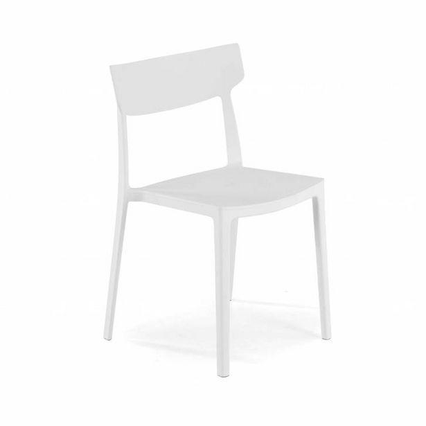 Oferta de Silla colectividad Folk, 4 patas, blanco por 59€