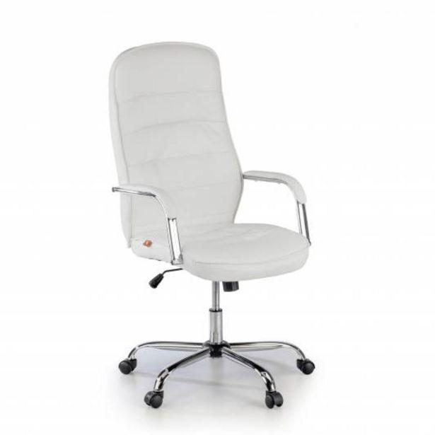 Oferta de Sillon de oficina Innsbruck, brazos tapizados, blanco por 109€