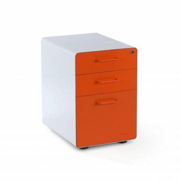 Oferta de Apple Buc cajonera cajón/archivo blanco/naranja por 169€