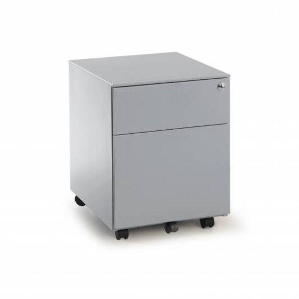 Oferta de Steelbox Buc cajonera cajón/archivo aluminio por 155€