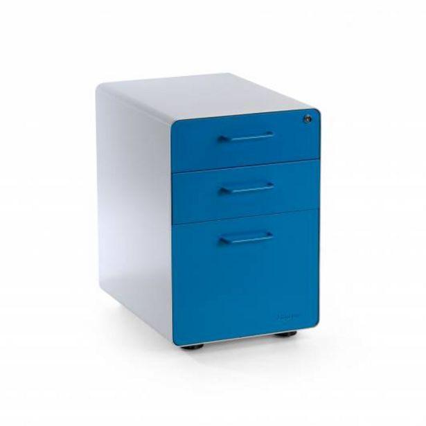Oferta de Apple Buc cajonera cajón/archivo blanco/azul por 169€