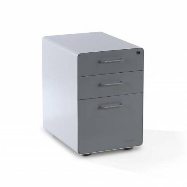 Oferta de Apple Buc cajonera cajón/archivo blanco/gris por 169€
