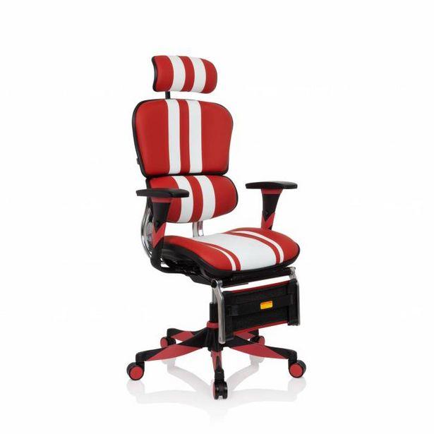 Oferta de Silla gaming profesional Ergoplus gaming, rojo por 489€