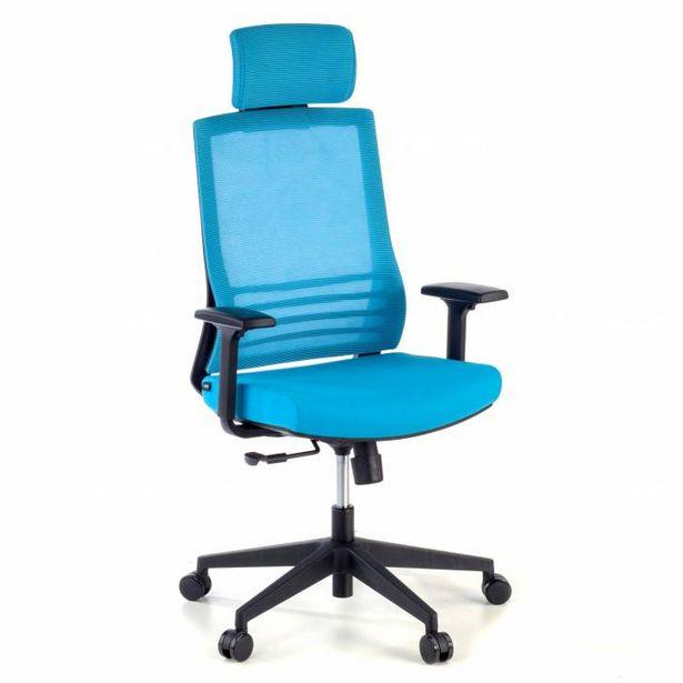 Oferta de Silla de oficina Magnum con reposacabezas red azul por 143€