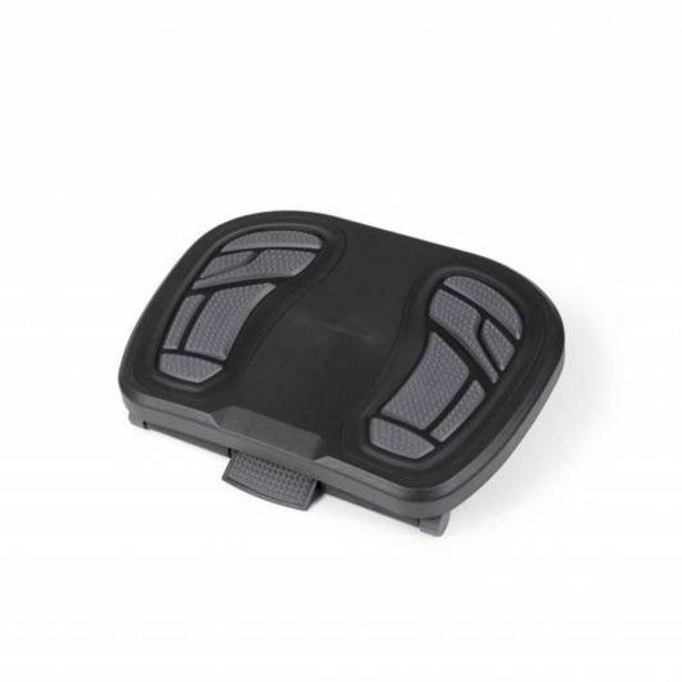 Oferta de Enox Reposapies ajustable, antideslizante y con regulacion altura, gris por 33€
