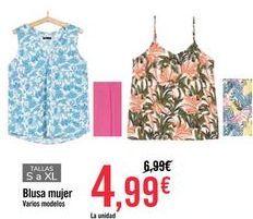 Oferta de Blusa mujer por 4,99€