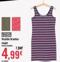 Oferta de Vestido tirantes  por 4,99€