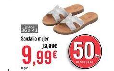 Oferta de Sandalia mujer por 9,99€