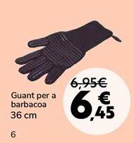 Oferta de Guante para barbacoa por 6,45€