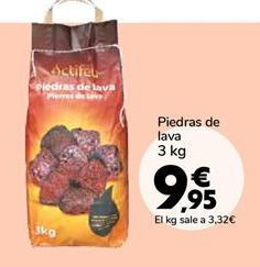 Oferta de Piedras de lava por 9,95€