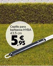 Oferta de Cepillo para barbacoa HYBA por 5,95€