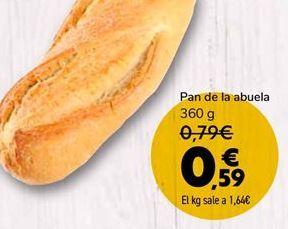 Oferta de Pan de abuela  por 0,59€