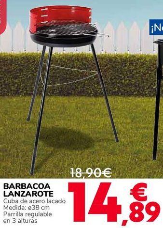 Oferta de BARBACOA LANZAROTE por 14,89€