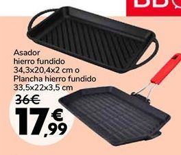Oferta de Asador hierro fundido por 17,99€