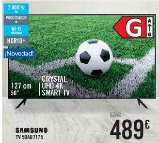 Oferta de SAMSUNG TV50AU7175  por 489€