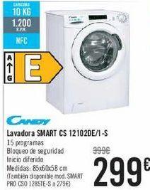 Oferta de Lavadora SMART CS 1210DE/1-S por 299€