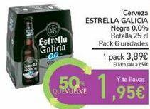 Oferta de Cerveza ESTRELLA GALICIA Negra 0,0% por 3,89€