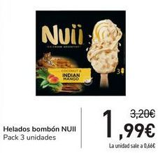 Oferta de Helado bombón NUII por 1,99€