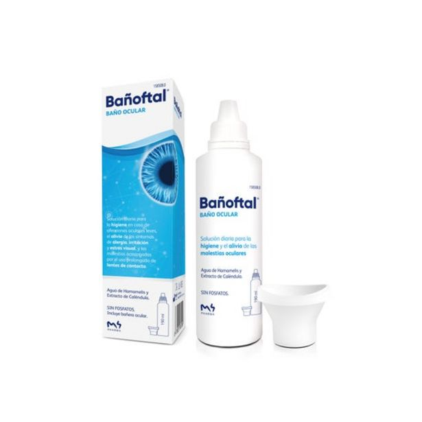 Oferta de Bañoftal® baño ocular líquido 200ml por 5,15€