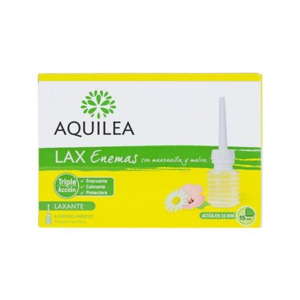 Oferta de Aquilea Lax Enemas 6uds por 5,98€