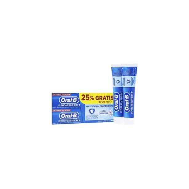 Oferta de Oral B Pro Expert Pasta Multiprotección 2x100 Ml por 4,37€