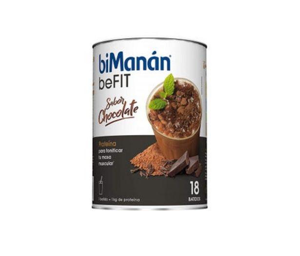Oferta de BiManán beFit Proteína Batido Chocolate 540g por 20,59€