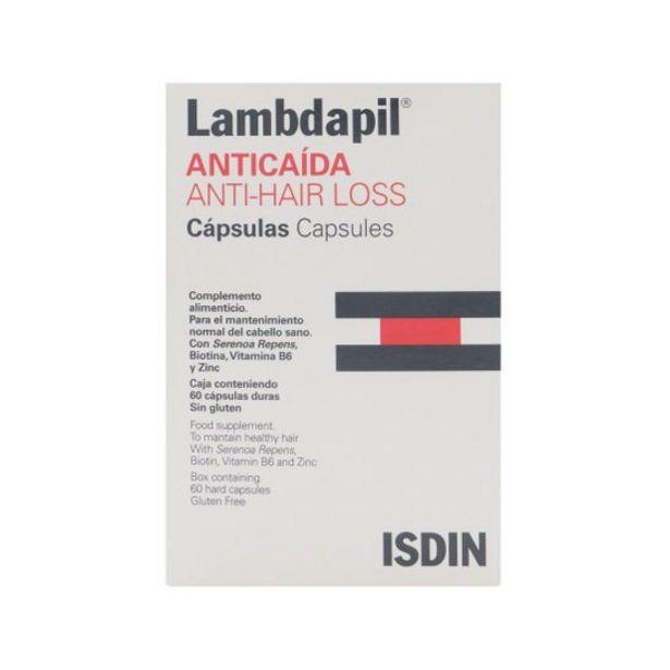 Oferta de ISDIN Lambdapil Anticaída 60caps por 16,64€